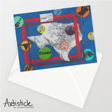 Texas 5x7 Greeting Card