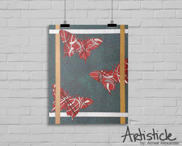 Twisted Fly signed art print