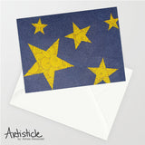 Twinkle Twinkle Note Cards, set of 6 blank cards with envelopes