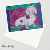 Dachshund 5x7 Greeting Card