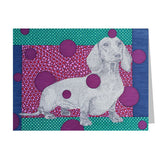 Dachshund Note Cards, set of 6 blank cards with envelopes