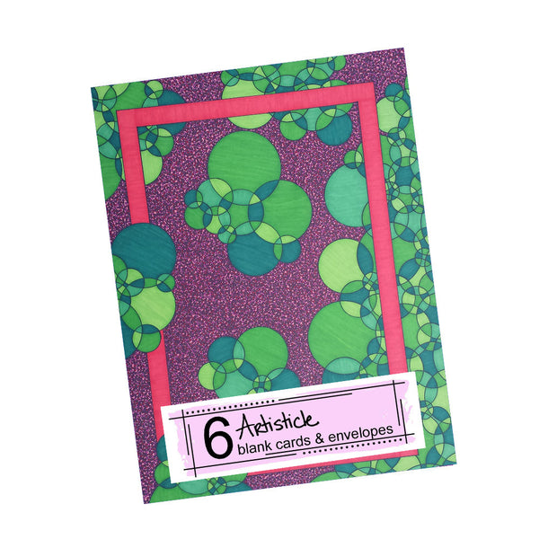 Watermelon Note Cards, set of 6 blank cards with envelopes
