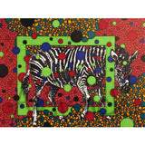 Zebra 5x7 Greeting Card