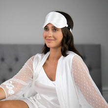 Load image into Gallery viewer, Pure Silk Sleep Mask - Ivory
