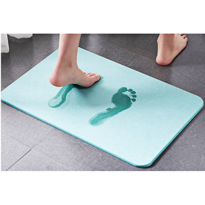 Diatomaceous Water Absorption Bath Mat - Bansan Penang