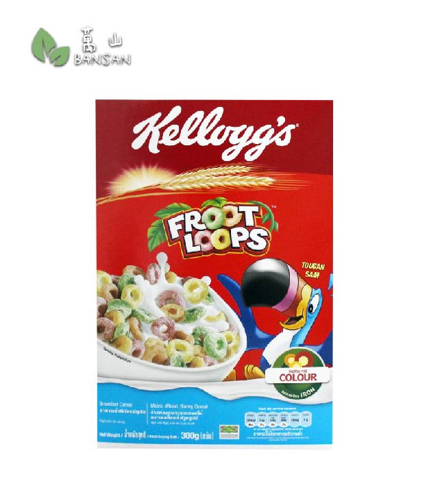 Kellogg's Froot Loops Breakfast Cereal - Bansan Penang