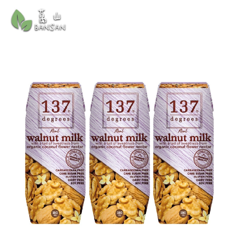 Penang Grocery Store Online Next Day Delivery is Offering 137 Degrees Walnut Milk (180 ml)