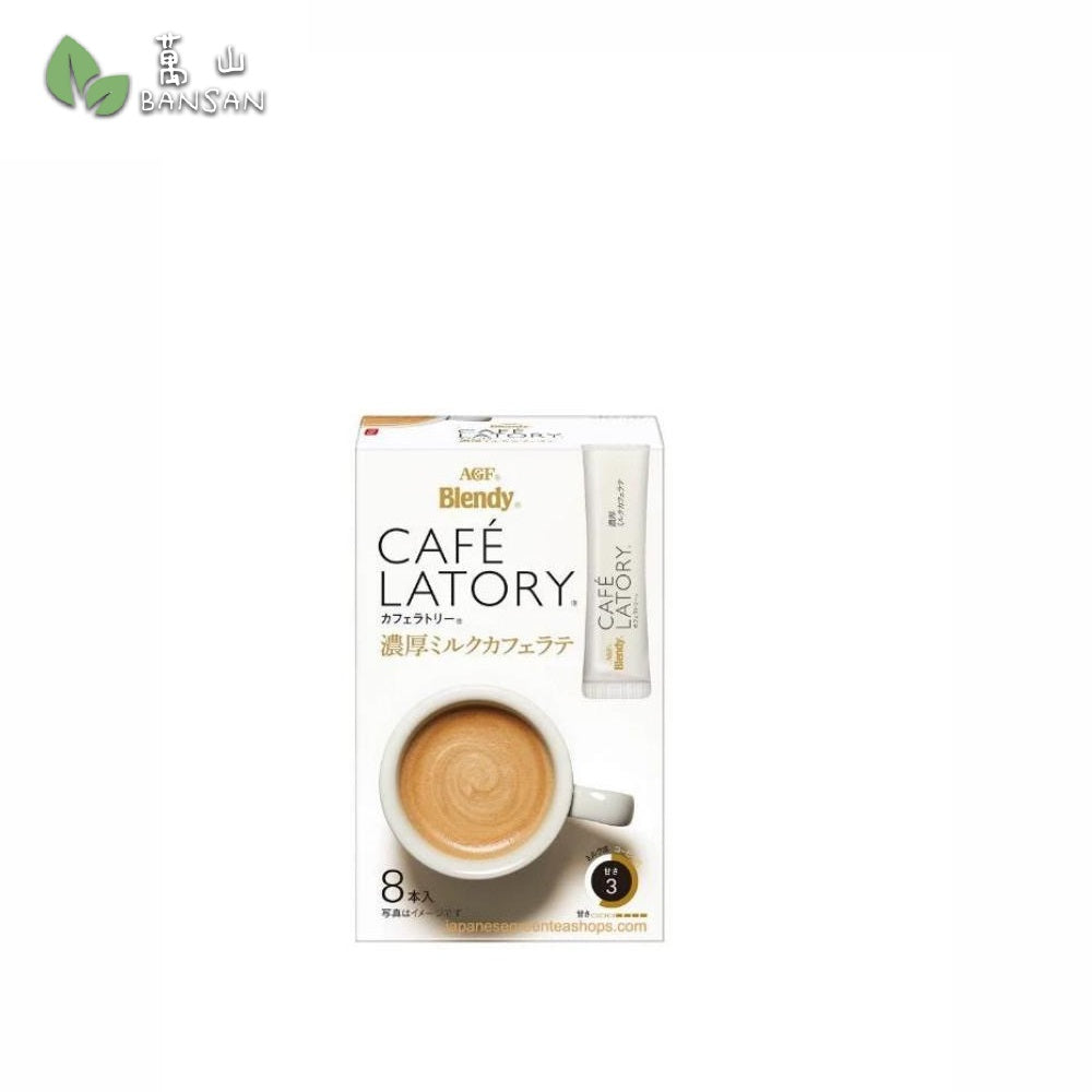 Penang Grocery Store Online Next Day Delivery is Offering AGF Blendy Cafe Latory Milk Cafe Latte (8 sticks)