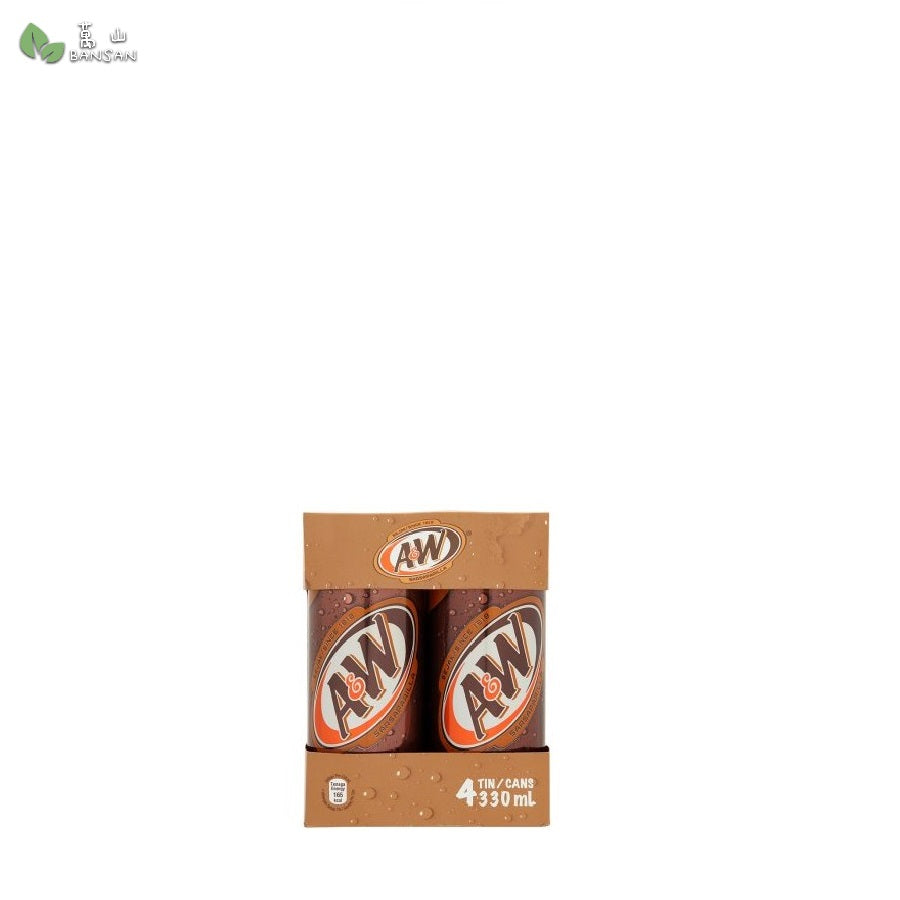 Penang Grocery Store Online Next Day Delivery is Offering A&W Sarsaparilla (4 Cans) (330ml)