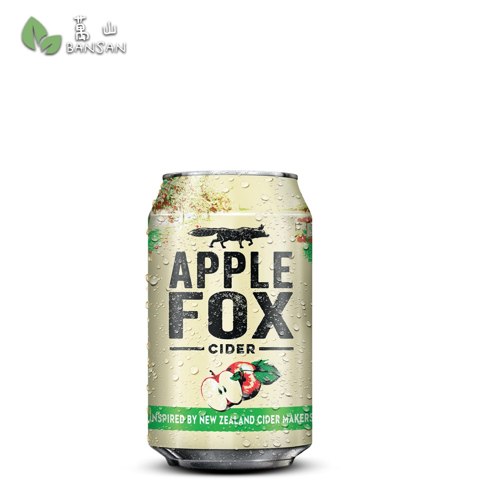 Penang Grocery Store Online Next Day Delivery is Offering Apple Fox Cider 6-Can Pack (6 x 320ml)