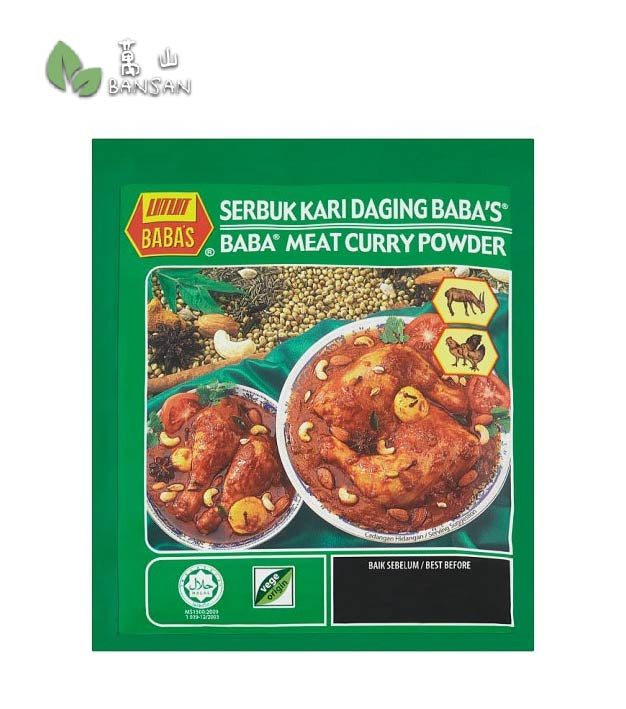 Penang Grocery Store Online Next Day Delivery is Offering Baba's Meat Curry Powder