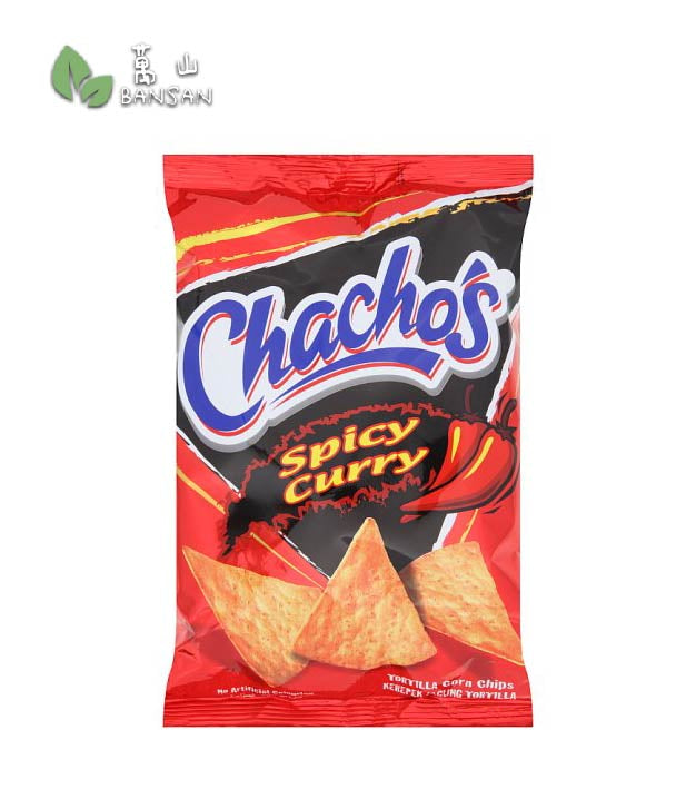 Penang Grocery Store Online Next Day Delivery is Offering Chacho's Spicy Curry Corn Chips