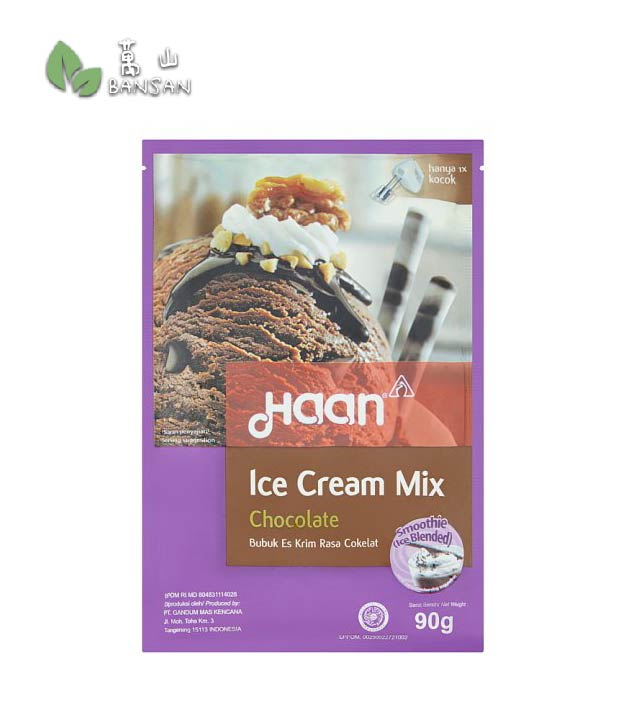 Penang Grocery Store Online Next Day Delivery is Offering Haan Chocolate Ice Cream Mix [90g]