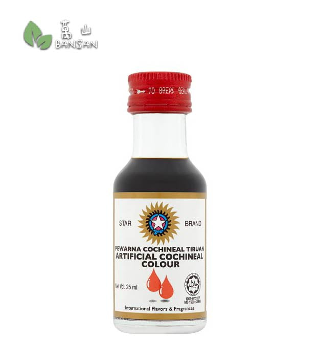 Penang Grocery Store Online Next Day Delivery is Offering Star Brand Artificial Cochineal Colour [25ml]