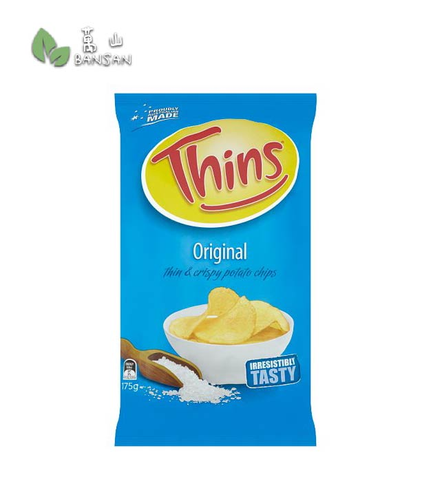 Penang Grocery Store Online Next Day Delivery is Offering Thins Original Thin & Crispy Potato Chips [175g]