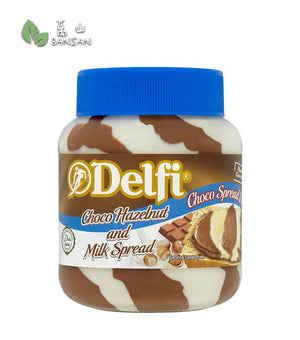 Penang Grocery Store Online Next Day Delivery is Offering Delfi Choco Hazelnut and Milk Spread [350g]