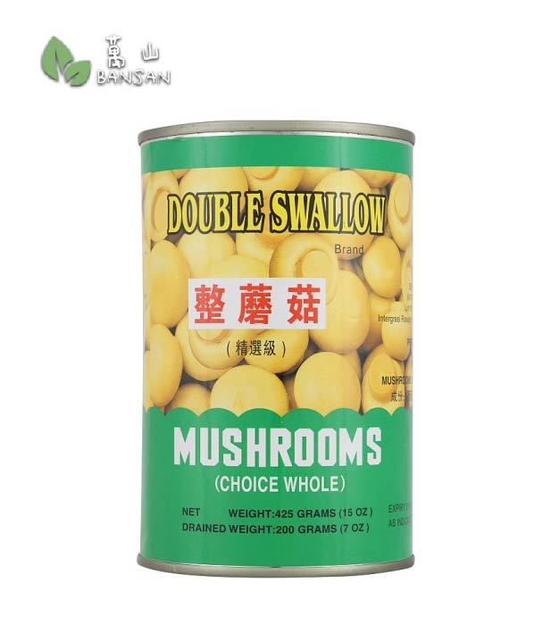 Penang Grocery Store Online Next Day Delivery is Offering Double Swallow Choice Whole Mushrooms [425g]