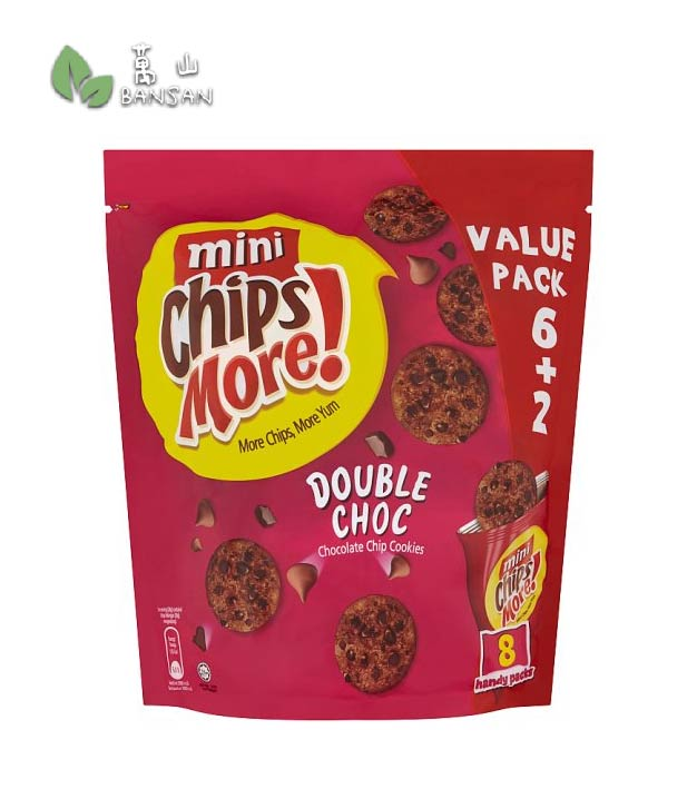 Penang Grocery Store Online Next Day Delivery is Offering Mini Chips More! Double Choc Chocolate Chip Cookies [8 x 28g]