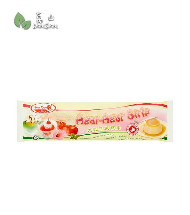 Penang Grocery Store Online Next Day Delivery is Offering Bunga Raya Agar-Agar Strip [30g]