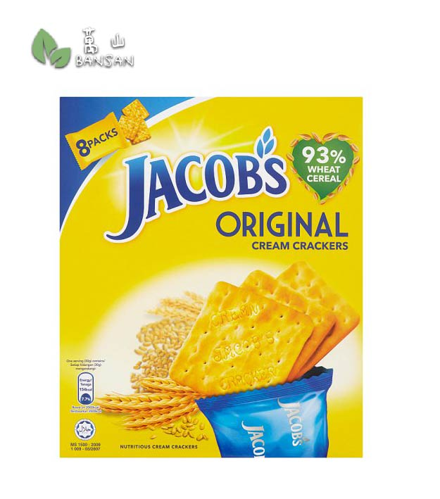 Penang Grocery Store Online Next Day Delivery is Offering Jacob's Original Cream Crackers 8 Packs [240g]