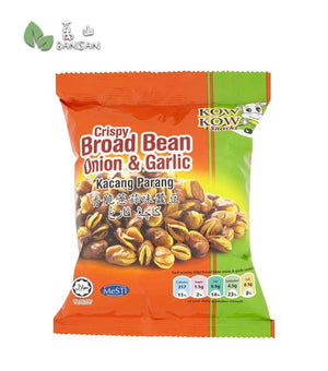 Penang Grocery Store Online Next Day Delivery is Offering Kow Kow Snacks Crispy Onion & Garlic Broad Bean [50g]
