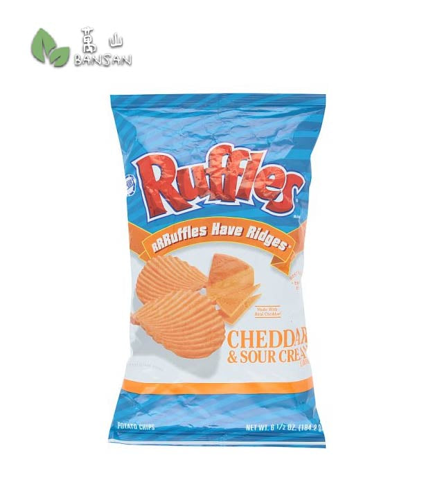 Penang Grocery Store Online Next Day Delivery is Offering Ruffles Cheddar Sour Cream Potato Chips [184.2g]