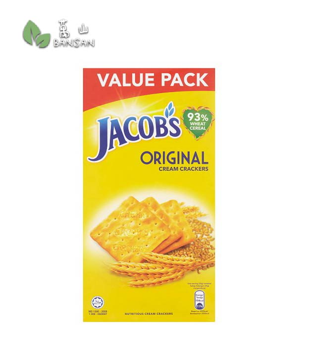 Penang Grocery Store Online Next Day Delivery is Offering Jacob's Original Cream Crackers Value Pack [360g]
