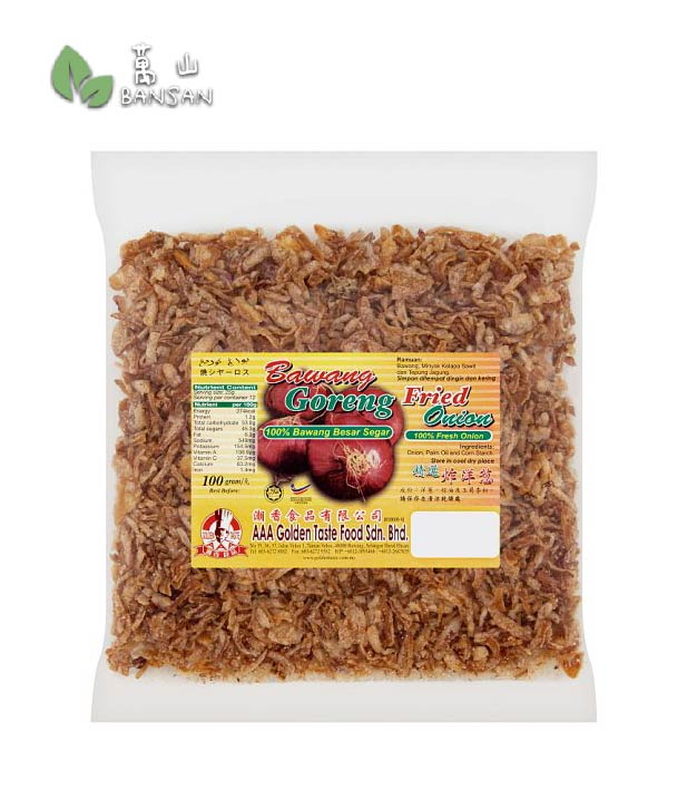 Penang Grocery Store Online Next Day Delivery is Offering AAA Golden Taste Fried Onion [100g]