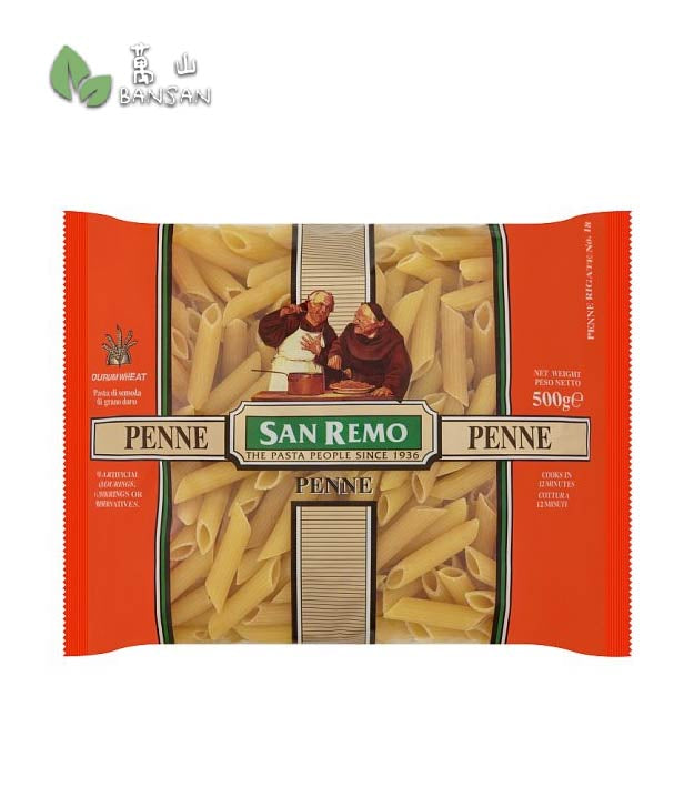 Penang Grocery Store Online Next Day Delivery is Offering San Remo Penne Rigate No. 18 Pasta [500g]