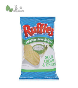 Penang Grocery Store Online Next Day Delivery is Offering Ruffles Have Ridges Sour Cream & Onion Flavoured Potato Chips [184.2g]
