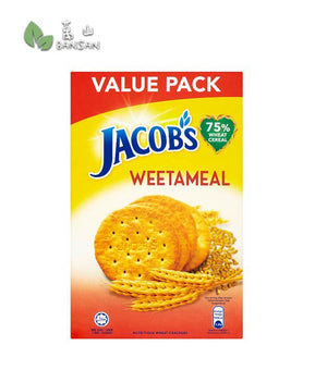 Penang Grocery Store Online Next Day Delivery is Offering Jacob's Weetameal Nutritious Wheat Crackers [289g]