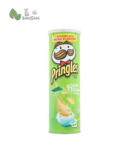 Pringles Sour Cream & Onion Potato Crisps [107g] - Bansan Penang