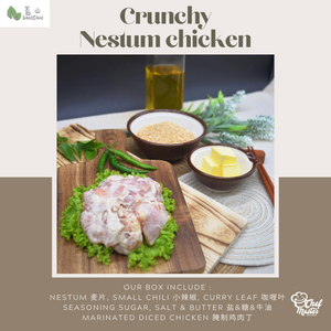 Crunchy Nestum Chicken 麦片鸡