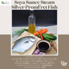 Soya Sauce Steam Silver Promfret Fish 酱油清蒸银鲳
