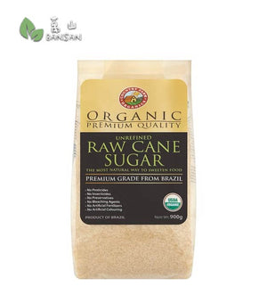 Penang Grocery Store Online Next Day Delivery is Offering Country Farm Organics Organic Premium Quality Unrefined Raw Cane Sugar [900g]