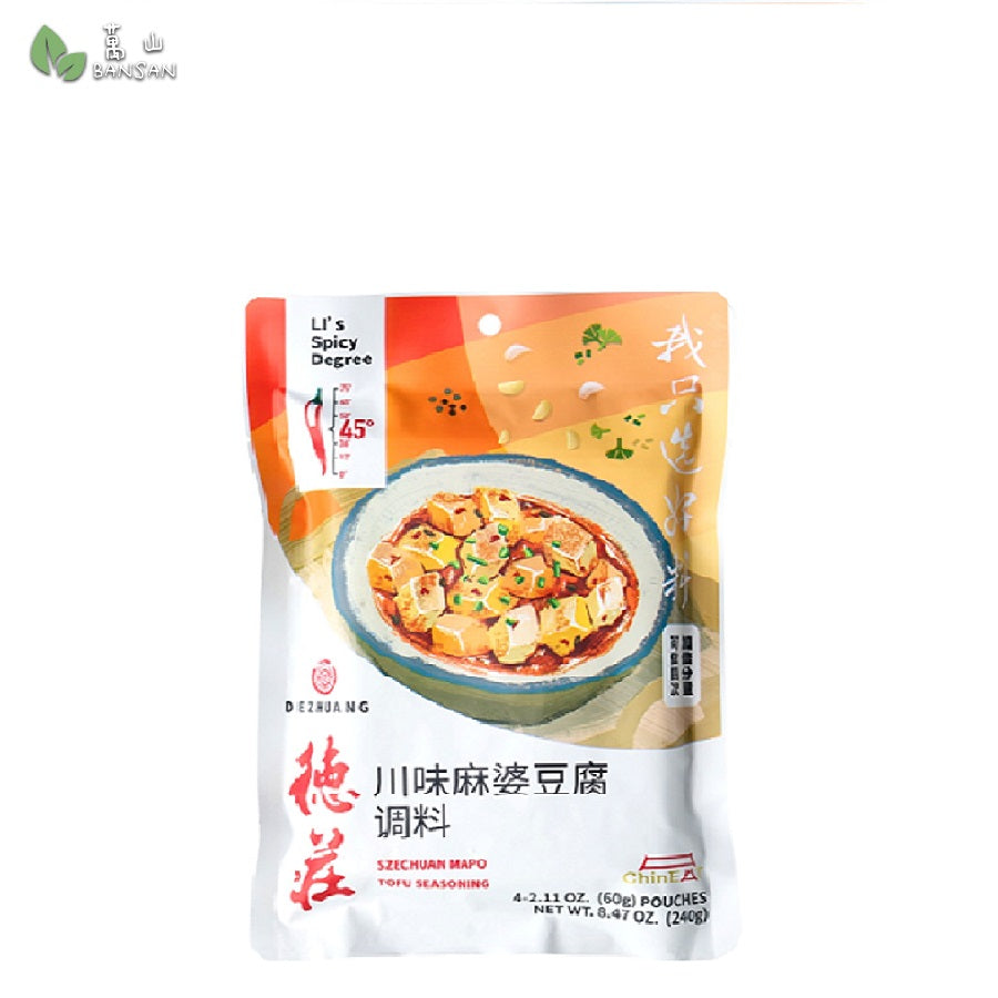Penang Grocery Store Online Next Day Delivery is Offering DeZhuang SzeChuan Mapo Tofu Seasoning 德庄川味麻婆豆腐调料 (240g)