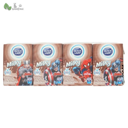 Penang Grocery Store Online Next Day Delivery is Offering Dutch Lady Milky Avengers Chocolate Flavoured Milk (4 x 125ml)