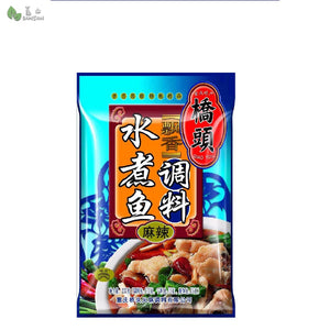 Penang Grocery Store Online Next Day Delivery is Offering Chongqing Qiaotou Pickled Fish Sauce Seasoning Boiled Fish (spicy mala) 重庆桥头水煮鱼调料麻辣底料 (120g)