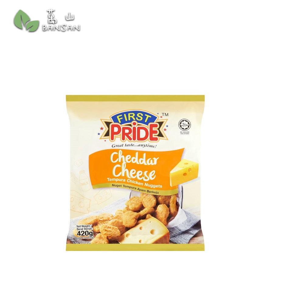 Penang Grocery Store Online Next Day Delivery is Offering First Pride Cheddar Cheese Tempura Chicken Nuggets (420g)