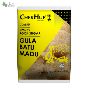 Penang Grocery Store Online Next Day Delivery is Offering Chek Hup Honey Rock Sugar 泽合石蜂糖 (250g)