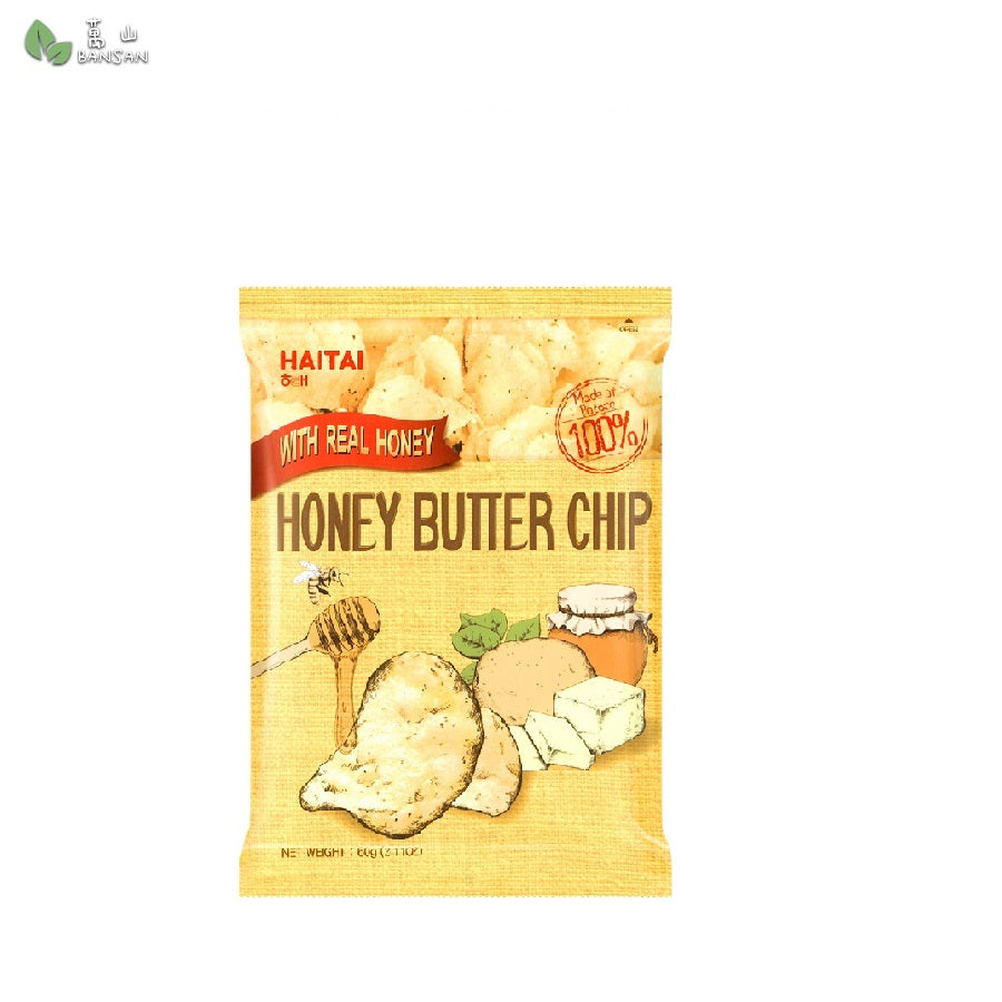 Penang Grocery Store Online Next Day Delivery is Offering Haitai Honey Butter Chip 海太蜂蜜奶油洋芋片 (60g x 2 packs)