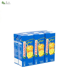 F&N Seasons Ice Lemon Tea (250ml) (1 set with 6 pcks) - Bansan Penang