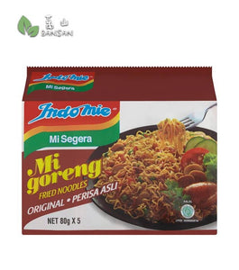 Indomie Mi Goreng Original Fried Noodles [5 Packets x 80g] - Bansan Penang