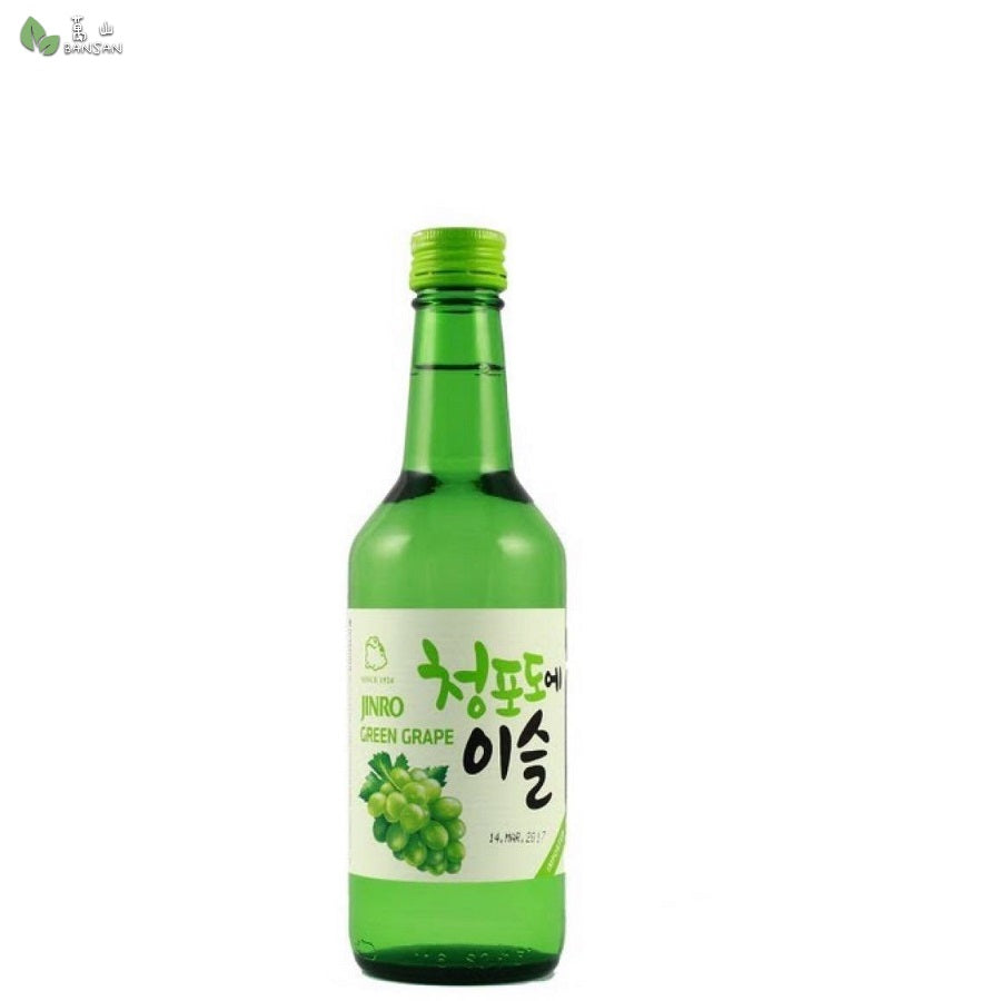 Penang Grocery Store Online Next Day Delivery is Offering Jinro Soju Greengrape (370ml)