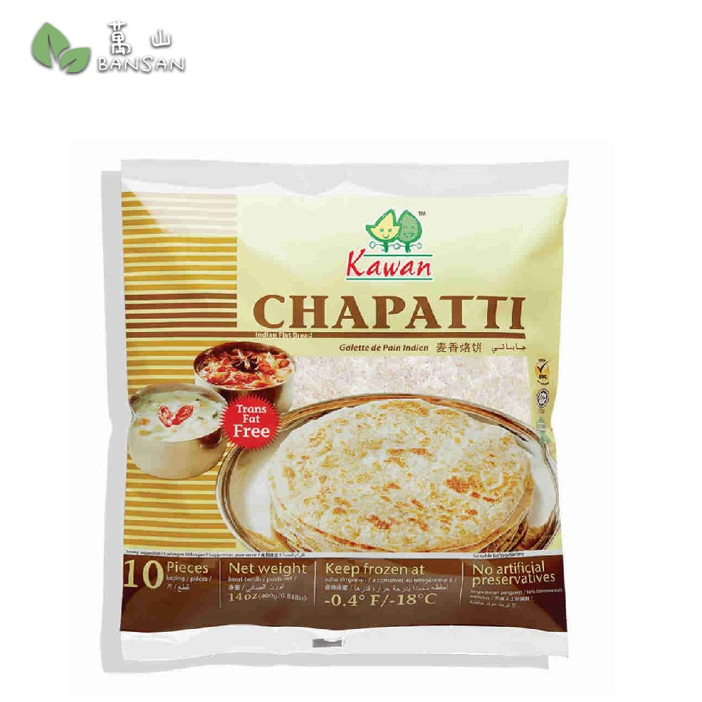 Penang Grocery Store Online Next Day Delivery is Offering Kawan Chapatti Indian Flat Bread (10pcs) (400g)