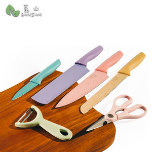 Ceramic Knife Set 6 in 1 - Bansan Penang