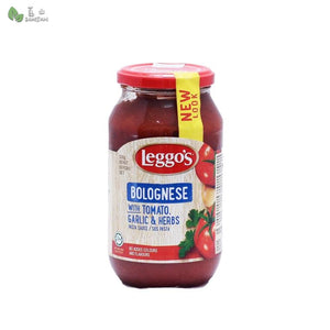 Penang Grocery Store Online Next Day Delivery is Offering Leggo's Bolognese with Tomato, Garlic & Herbs (500g)