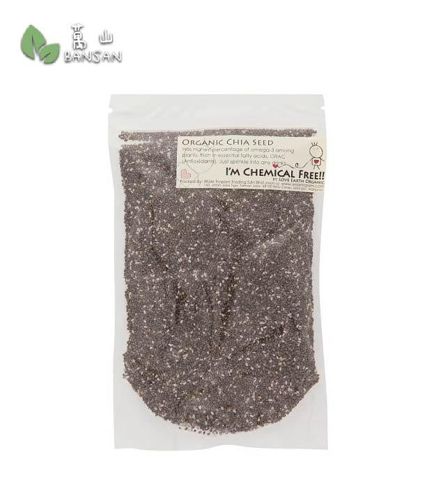 Penang Grocery Store Online Next Day Delivery is Offering Love Earth Organic Chia Seed (±150g)