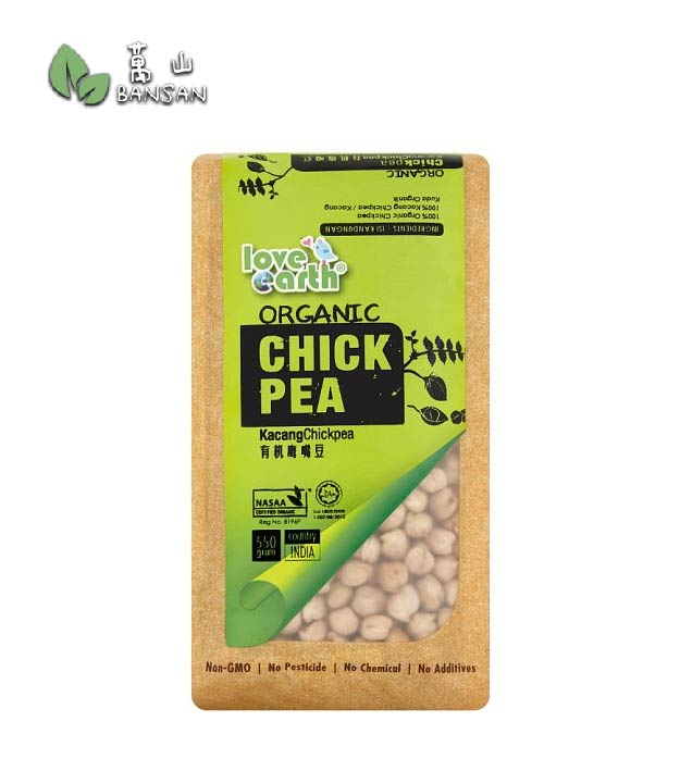 Penang Grocery Store Online Next Day Delivery is Offering Love Earth Organic Chickpea [550g]