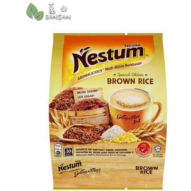 Penang Grocery Store Online Next Day Delivery is Offering Nestlé Nestum Special Edition Grains & More 3 in 1 Aromalicious Brown Rice